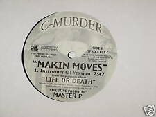 "C MURDER makin moves 12"" RECORD MASTER P CMURDER"