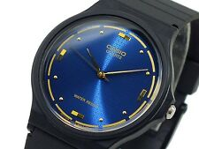 Casio MQ76-2A Men's Black Resin Band Casual Blue Dial Analog Watch