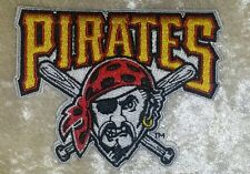 """Pittsburgh Pirates 3.5"""" Iron On Embroidered Patch"""