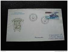TAAF carta 15/12/80 - sello stamp - yvert y aire de tellier nº64 (cy8)