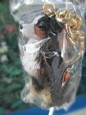 Australian Shepherd Tri Colored Docked Tail ~ Key Chain ~ Great Gift Item