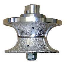 Diamond Router Bit for Grinder - 40mm V Profile Bullnose