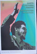 OSPAAAL Poster Che Guevara Hasta La Victoria Siempre Carteles Afiches CUBAN HERO