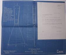 1931 Lamson Goodnow Bureau Engraving Printing Washington DC BLUEPRINT L835L