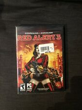 Command & Conquer Red Alert 3 (PC, 2008, EA) Complete Sealed New