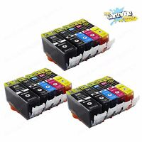 15Pack PGI-220 CLI-221 Ink for Canon Pixma MX860 MX870 MP560 MP620 iP3600 iP4600