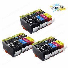 15Pack PGI-220 CLI-221 Ink for Canon Pixma MX860 MX870 MP560 MP620 iP3600 iP4600