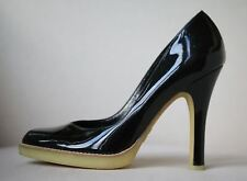 GUCCI PATENT LEATHER PUMPS EU 37 UK 4 US 7
