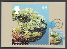 2009 Used GB Great Britain Stamp PHQ Postcard Evolution Charles Darwin Zoology