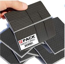 """SlipToGrip"" Non Slip Furniture Pad Grippers - Stops Slide - Multi Size (12Pads)"