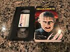 Hellraiser III 3 Hell On Earth Rare VHS! Paramount 1992 Unrated Version!