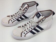 ADIDAS Mens NZA High Top Basketball Sneaker Shoes US 10.5