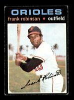 1971 Topps Set Break # 640 Frank Robinson VG *OBGcards*