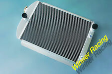 Aluminum Radiator Fit CHEVY HOT/STREET ROD CAR 1937 350 V8 ENGINE 56MM 700HP