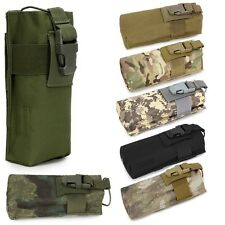 Airsoft Tactical Military Molle Radio Walkie Talkie Belt Pouch Water Bottle Bag