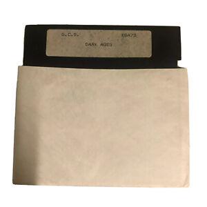 Dark Ages Vintage PC 5.25 Floppy Install Disk 1990's G.C.S. EGA73
