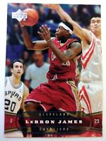 2004-05 Upper Deck LeBron James #26, 2nd Year, Cleveland Cavaliers