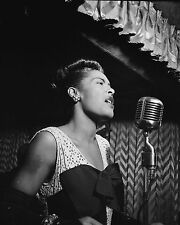 "Billie Holiday 10"" x 8"" Photograph no 5"