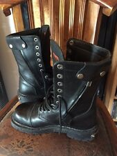 MEN'S HARLEY DAVIDSON BOOTS 41 SCARCE MODEL 2002 WORN TWICE PERFECT CONDITION