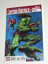 Marvel Captain America White #3 1:10 Bisley Kirby Monster Variant Nm