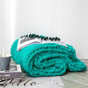 2021 knitting throw to the bed sofa bedroom living room summer cushion blanket