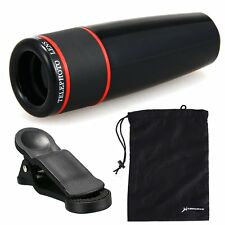XCSOURCE Universal 12X Telephoto Zoom Camera Lens Clip For Cellphone iPhone Sams