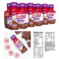 SlimFast Advanced Nutrition Creamy Chocolate Shake 11 oz Meal Replacement 12 ct