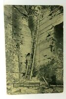 Helderberg Mountains New York Indian Ladder Vintage Postcard