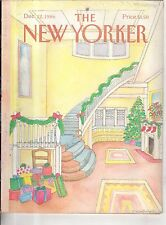 1986 New Yorker December 22 - The house is decorated for Christmas - Van Rynbach
