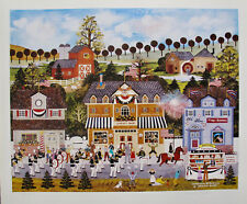 Jane Wooster Scott CELEBRATION OF AMERICA Hand Signed Limited Edition Lithograph