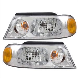 Pair Headlights fits 98-02 Lincoln Navigator 02 Blackwood Pickup Headlamp Set