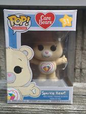 SPARKLE HEART BEAR Custom Painted FUNKO POP Care Bears Figure Toy Japan White