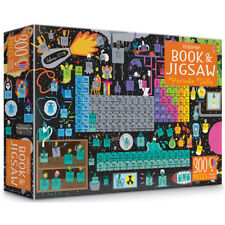 Usborne Periodic Table Book and 300 Piece Jigsaw