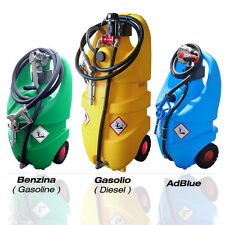 Mobiltank Emilcaddy Diesel Benzin AdBlue® Tank Trolley mobile Tankstelle 12V