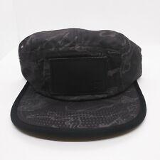 TrukFit mens 100% Authentic Adjustable Strapback black logo camper hat