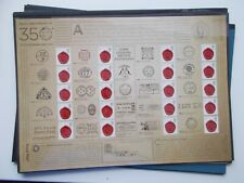 2011 350th Anniversary of the Postmark Royal Mail Smiler Sheet LS78 Superb U/M