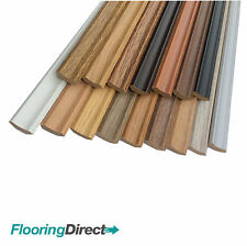 LAMINATE FLOOR SCOTIA EDGING BEADING 2.4m LENGTHS AVAILABLE IN 30 COLOURS CHEAP!