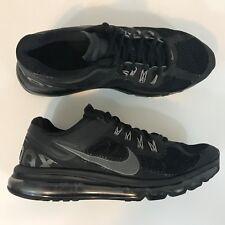 Nike Air Max + 2013 Running Shoe Black Mens Size 9.5