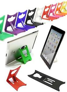 "Foldable Travel & Desk iClip Stand : iPad, Galaxy Tab, 9"" 10"" Tablets : x1- lot"