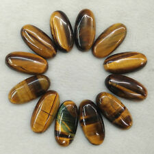 Natural tiger eye stone Oval CAB CABOCHON beads 15x30mm 20pcs/lot Wholesale