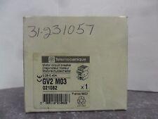 New Telemecanique GV2 M03 Motor Circuit Breaker 0.25-.0.40 Amps NIB