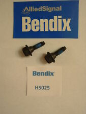 BENDIX H5025 -  KEY RETAINING BOLT - HEX HEAD / BLACK -  FORD 1/2, 3/4 AND 1 TON