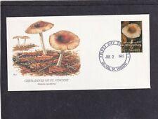 St Vincent Grenadines 1992 Mushroom Amanita Craeoderma First Day Cover FDC
