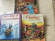 Prince Valiant Hal Foster magzine interviews and Pacific Comic Strip reprint lot