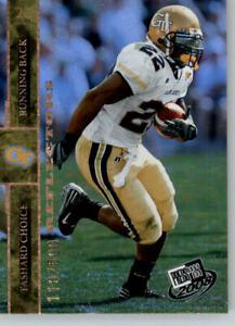 2008 Press Pass Football Reflectors /500 #47 Tashard Choice - Cowboys