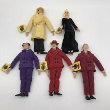 Vintage Dick Tracy Applause 9� Figures Big Boy, Pruneface, Flattop, Breathless