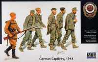 Master Box — German captives, 1944 — Plastic model kit 1:35 Scale #3517