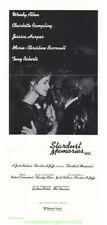 STARDUST MEMORIES MOVIE POSTER Folded 13x30 Mint AUSTRALIAN DAYBILL WOODY ALLEN