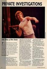 Dire Straits John Illsey Guitarist Interview Clipping