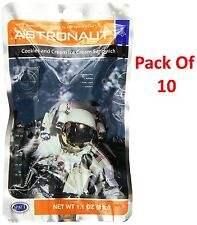 Set of 10 Cookies & Cream Ice Cream NASA Astronaut Space Food Freeze Dried Gift